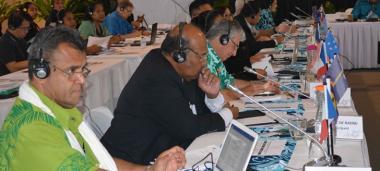 Représentée par Claude Gambey, chef de cabinet de Valentine Eurisouké, la Nouvelle-Calédonie a participé à la 12e réunion OMS des ministres de la Santé des pays océaniens.