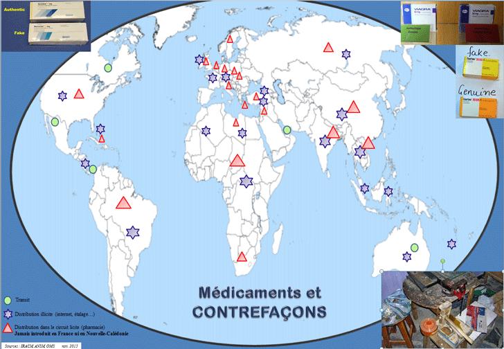 Médicaments et contrefaçcons