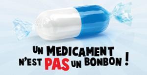 Le médicament n'est pas un bonbon